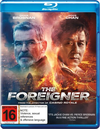 The Foreigner (2017) Dual Audio Hindi 480p BluRay x264 350MB ESubs