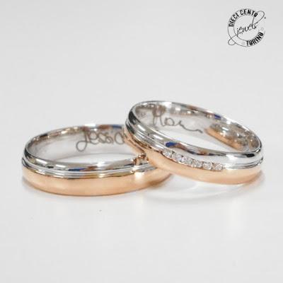 anelli di matrimonio diecicento