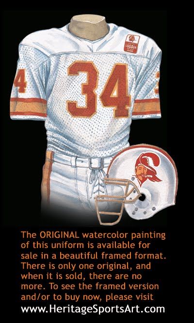e925cd50f Tampa Bay Buccaneers Uniform and Team History | Heritage Uniforms ...