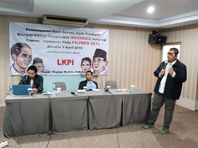 Survei LKPI, Jokowi Tertinggal Jauh dari Prabowo
