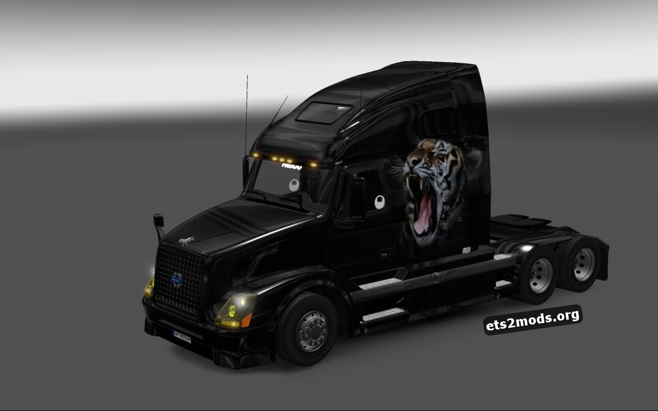 Royal Tiger Skin for Volvo VNL 670