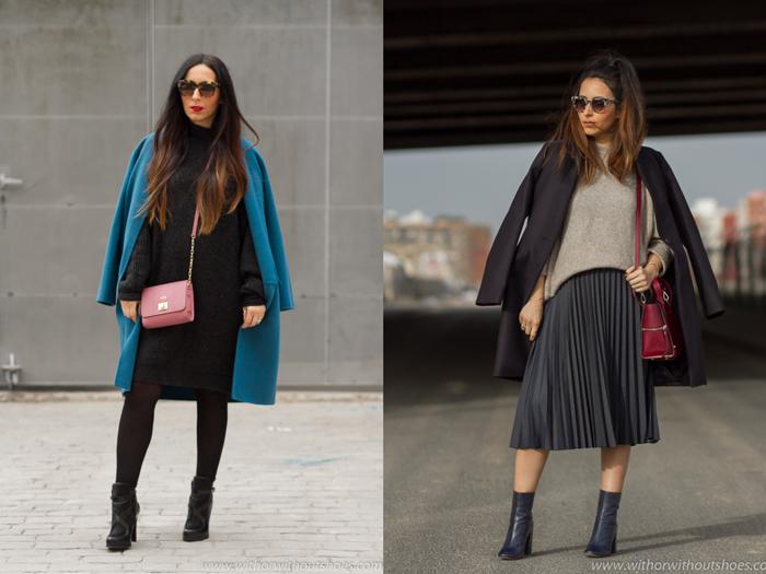 Blogger influencer de moda belleza con ideas para vestir comoda y estilosa en el embarazo