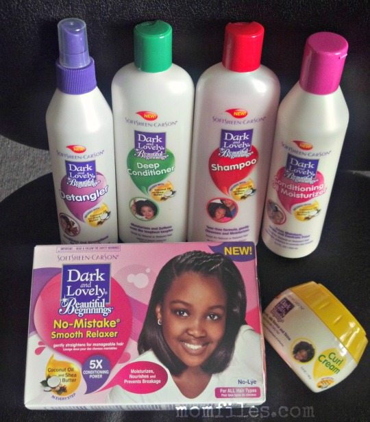 Dark And Lovely Beautiful Beginnings Product Line For