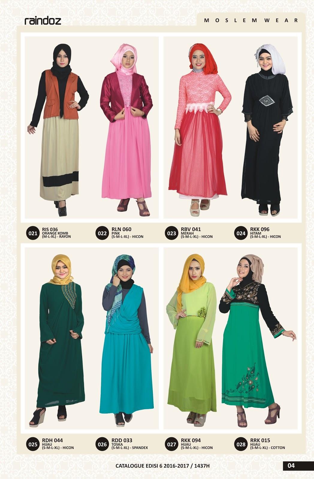 Katalog Raindoz Fashion Distro 2015 2016