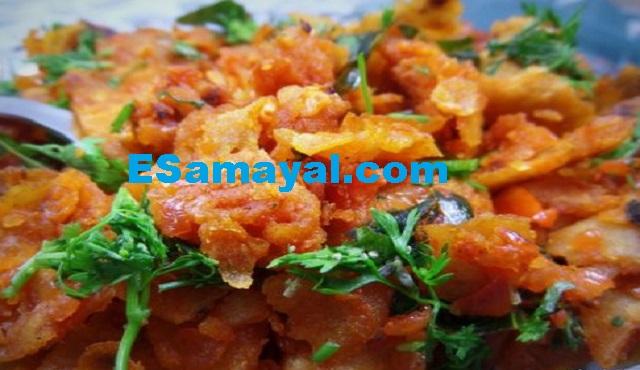 சில்லி சப்பாத்தி செய்முறை / Chili Chapati Recipe !