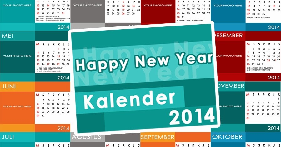 34+ Desain Foto Kalender Meja