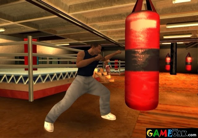 Boxing game is also available in mini games in GTA San Andreas