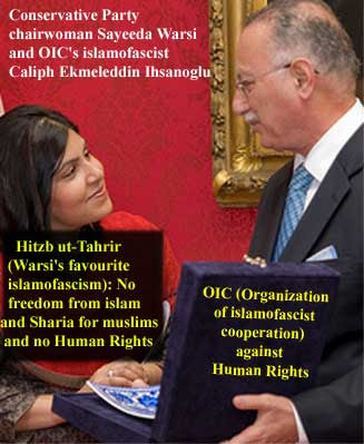 Islam/Sharia/OIC (Warsi, Ihsanoglu etc) means the rejection of Human Rights!