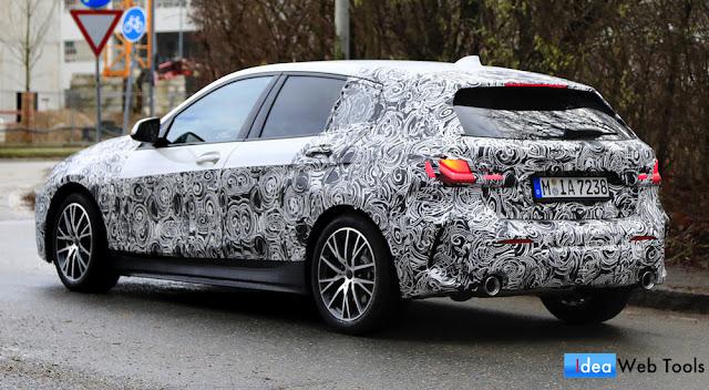 BMWの新型1シリーズ・5ドアハッチバックのプロトタイプが目撃!