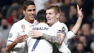 Video Gol Real Madrid vs SSC Napoli 3-1 Liga Champions
