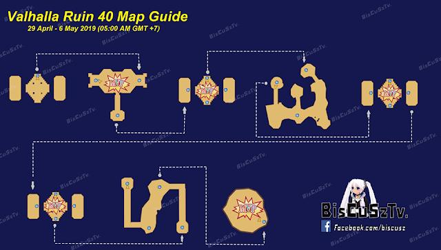 Map Guild Valhalla Ruin Ragnarok Online Mobile: Eternal Love