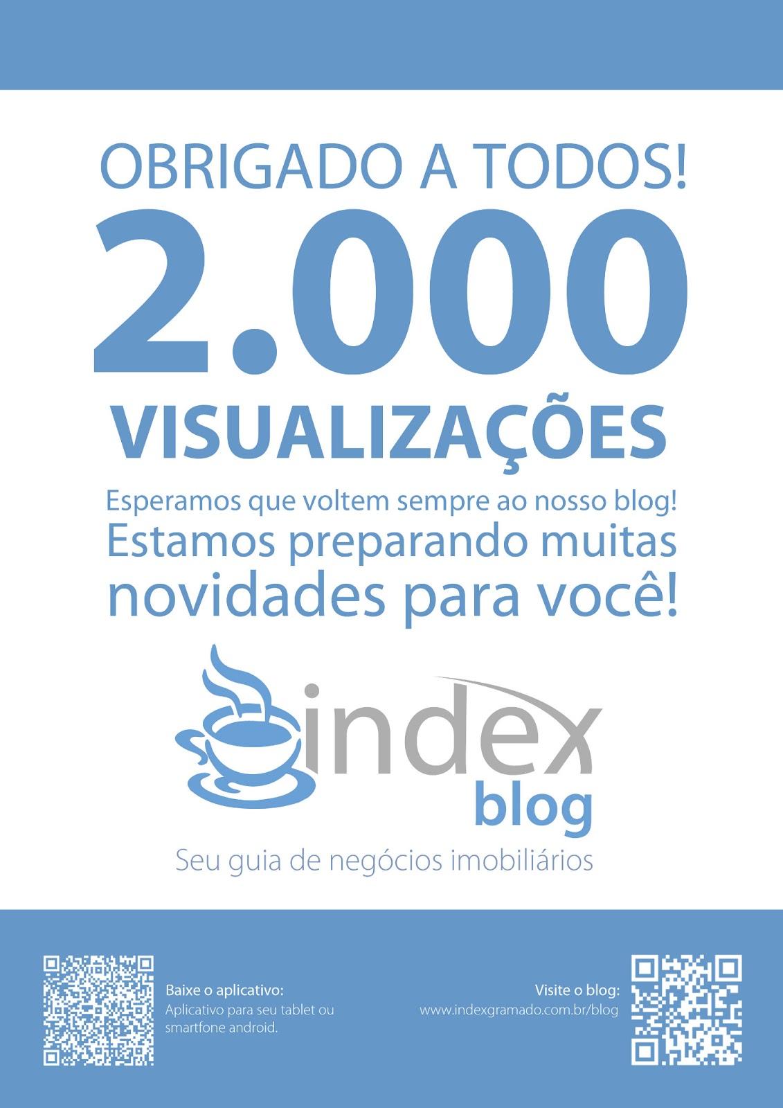 b28974a7d Index Blog completa 4 mêses com 2.000 visitas! - Index Gramado - Blog