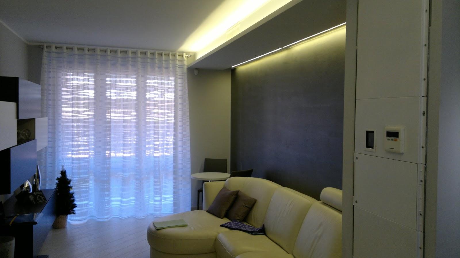 Illuminazione led casa: utilizzo del controsoffitto con l