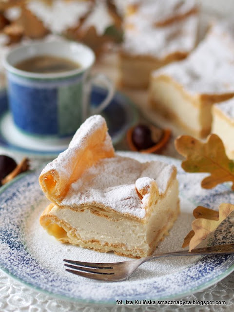 ciasto na niedziele, przepis na karpatke, ciasto parzone, krem budyniowy, upiecz takie ciasto, jak zrobic karpatke