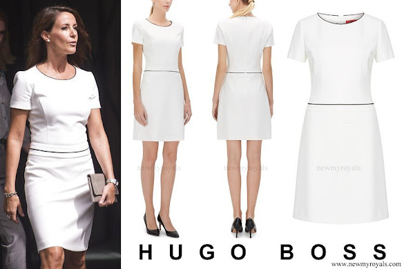 Princess Marie wore Hugo Boss Katniss dress