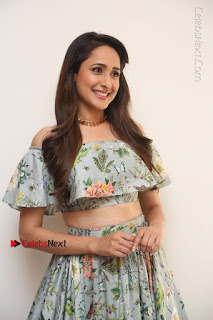 Actress Pragya Jaiswal Stills in Floral Dress at turodu Interview  0003.JPG