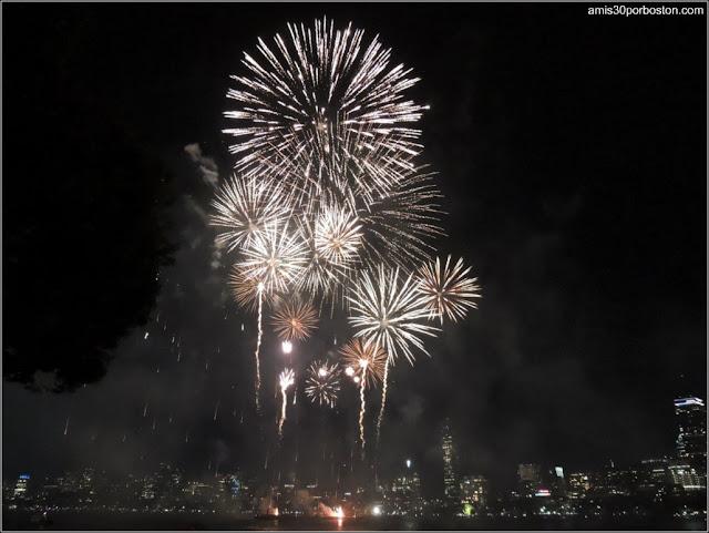 Fuegos Artificiales 4 de Julio Boston