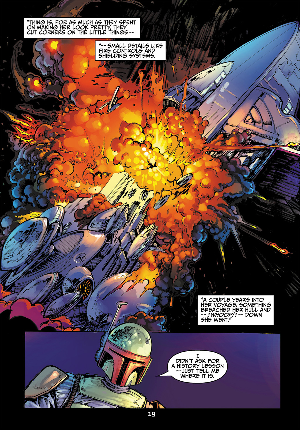 Read online Star Wars Adventures comic -  Issue # Issue Boba Fett and the Ship of Fear - 20