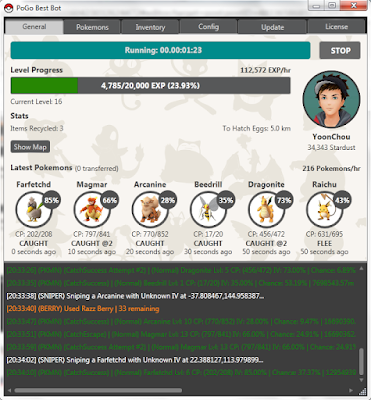 Tutorial PoGo Best Bot di Pokemon GO Cracked Version, Cara Menggunakan PoGo Bes Bot Free Cracked Version di Pokemon Go, Link Download PoGO Bes Bot Free Work Cracked Version, Cara Menggunakan PoGo Bes Bot Pokemon Go.