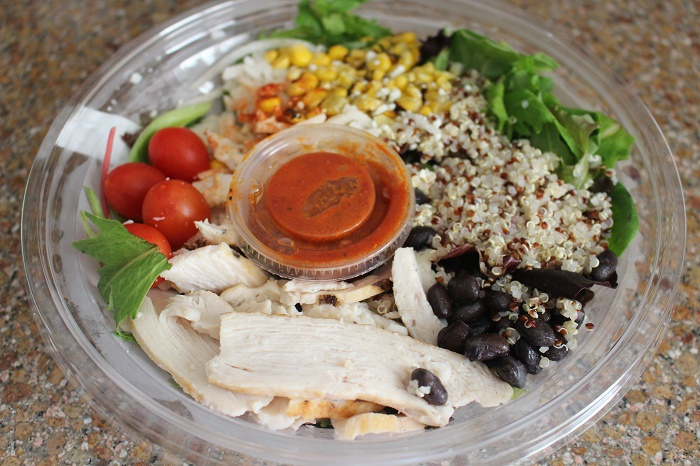 Starbucks Protein Salad Bowl Chicken Quinoa Salad It Has Grown