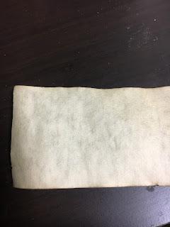 コーヒー染めした半紙