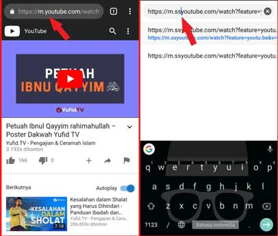 Download Video Youtube Ke Hp Tanpa Aplikasi