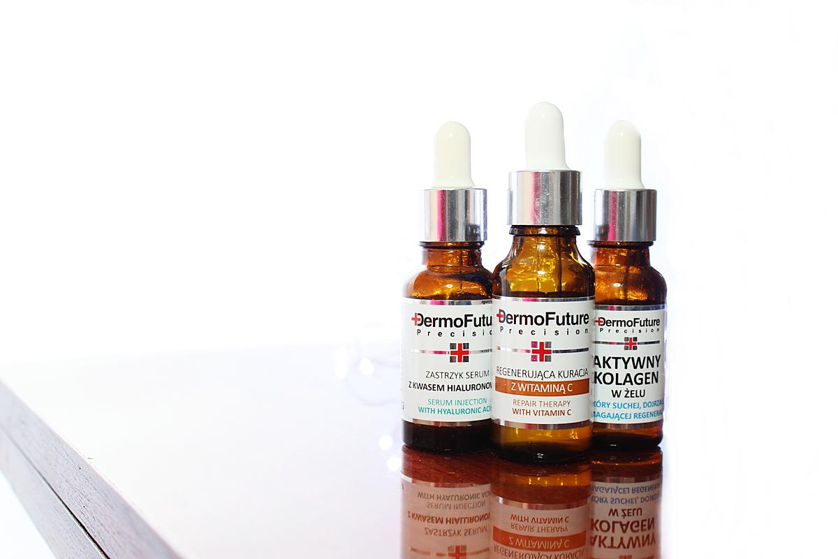 Kosmetyki Kwas hialuronowy, witamina C, kolagen
