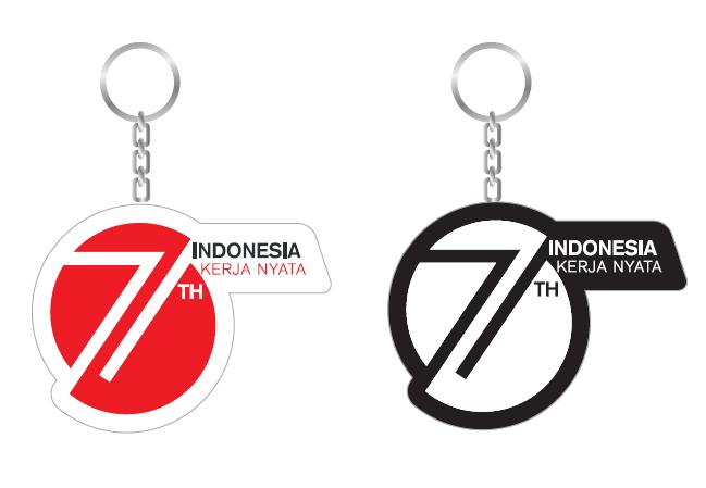 Design Merchandise / Souvenir HUT Ke-71 Republik Indonesia Tahun 2016