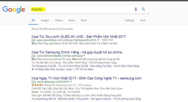 dịch vụ chạy quảng cáo google adwords tại đồng nai