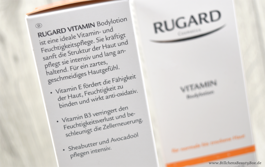 Rugard Vitamin Bodylotion
