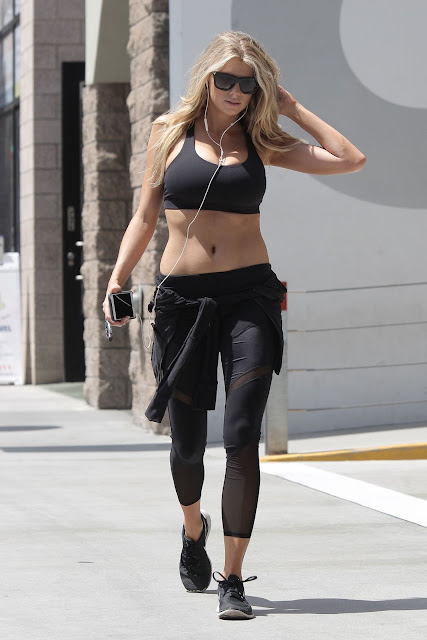 Actress, Model, @ Charlotte Mckinney Leaves A Gym In Los Angeles
