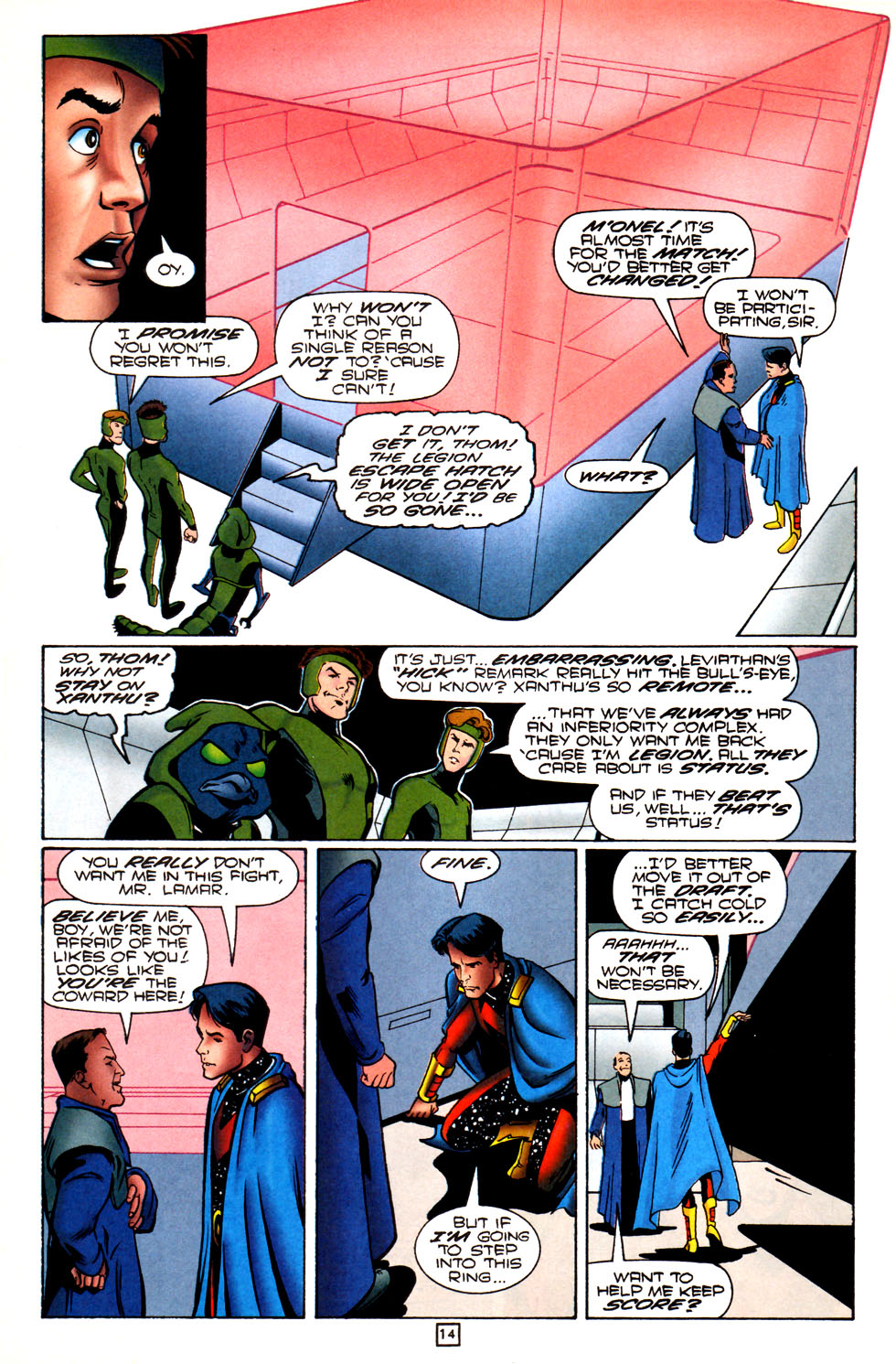 Legion of Super-Heroes (1989) 82 Page 14