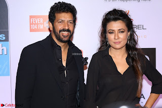 Red Carpet of Most Stylish Awards 2017 ~ Kabir Khan and Wife Mini Mathur (1).JPG