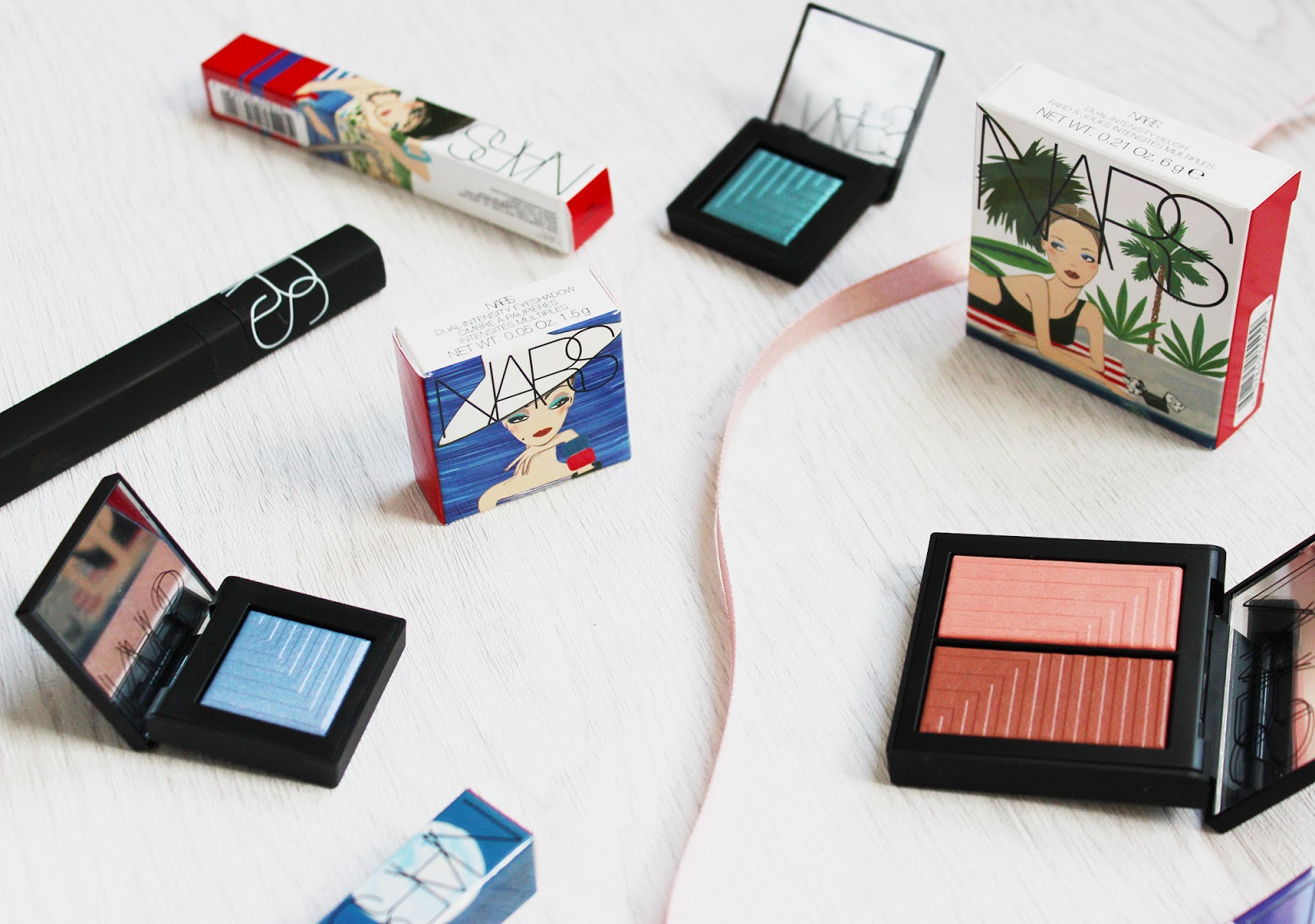 NARS Under Cover summer collection review and swatches on pale skin