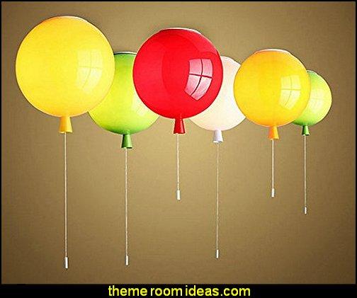 Balloon Lamp Bedroom Ceiling Light  winnie the pooh bedroom ideas - winnie the pooh decor - Winnie the Pooh Theme - Winnie the Pooh bedding - Pooh And Piglet - winnie pooh and friends themed bedrooms - Eeyore decor - bee decor - bear decor - teddy bear baby bedroom theme - teddy bear chairs - winnie the pooh wall murals - Winnie the Pooh nursery decor - Winnie the Pooh wall stickers - winnie the pooh wall mural