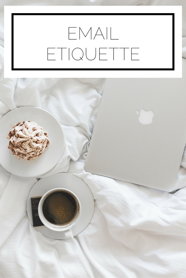 Click to read now, or pin to save for later! Just like the mail of days past, etiquette applies to our email. Here are the essentials you need to know