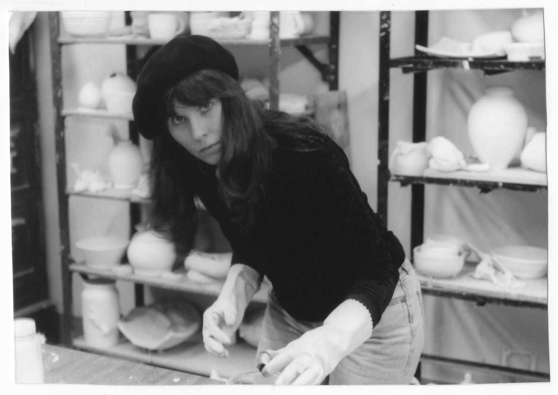 June Anderson, June Anderson artist, Artist June Anderson, Kokis studio, Kokis ceramic studio, ceramic studio, ceramic studio of George Kokis