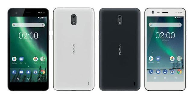 Nokia 2 atau Nokia TA-1035 smartphone kelas low-end yang dibandrol dengan harga 1.3 Juta