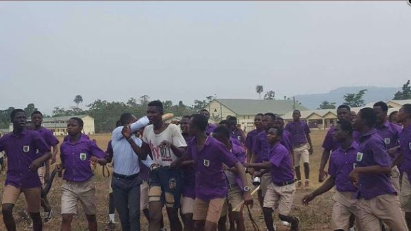19-year-old Boy Caught Taking Pictures Of School Girls Bathing (See Photos)