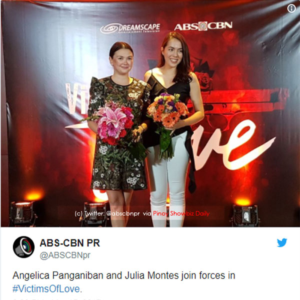 Angelica Panganiban and Julia Montes Victims of Love