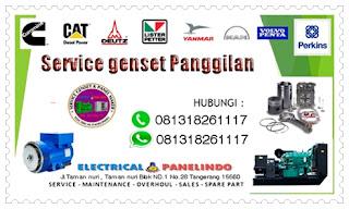 SERVICE GENSET AREA TAMAN TEKNO TANGERANG