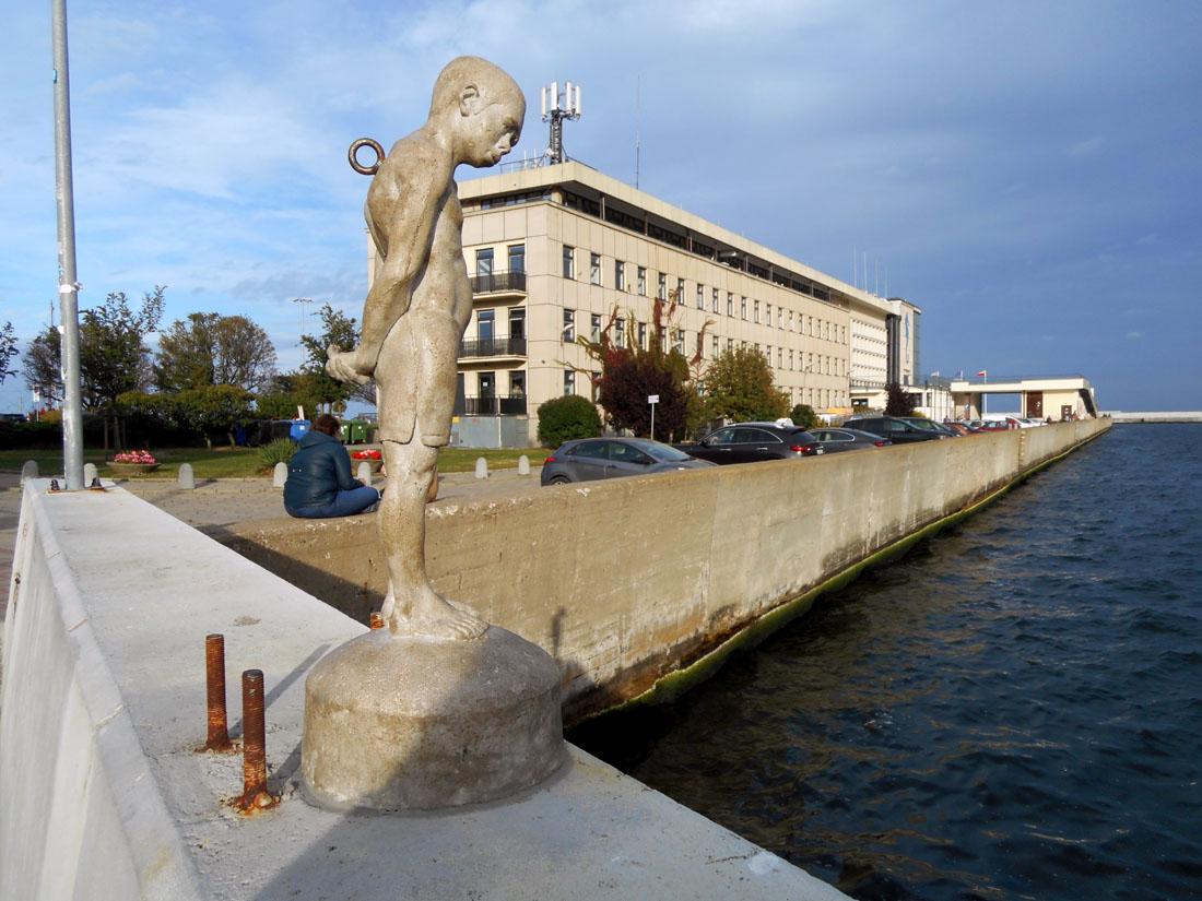 Al porto di Gdynia