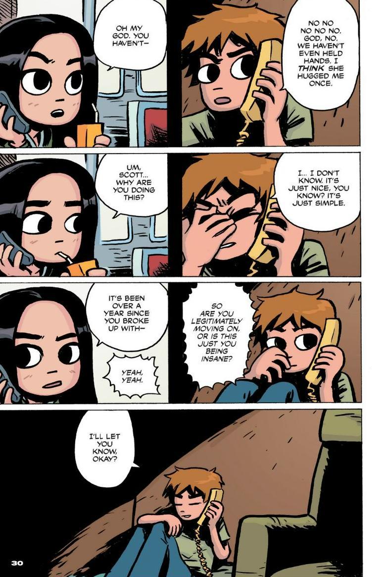 Read online Scott Pilgrim comic -  Issue #1 - 24
