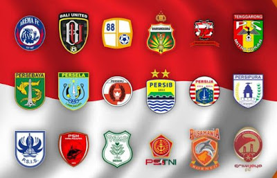 daftar klub liga 1 2018
