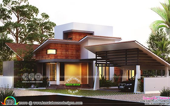 Cost effective contemporary home plan