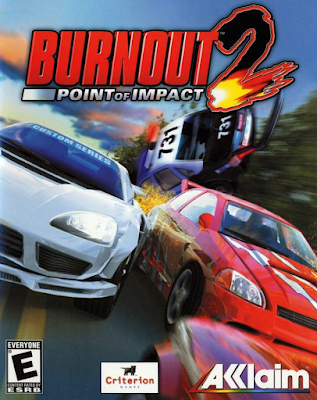 Burnout 2 Point of Impact PS2 GAME ISO