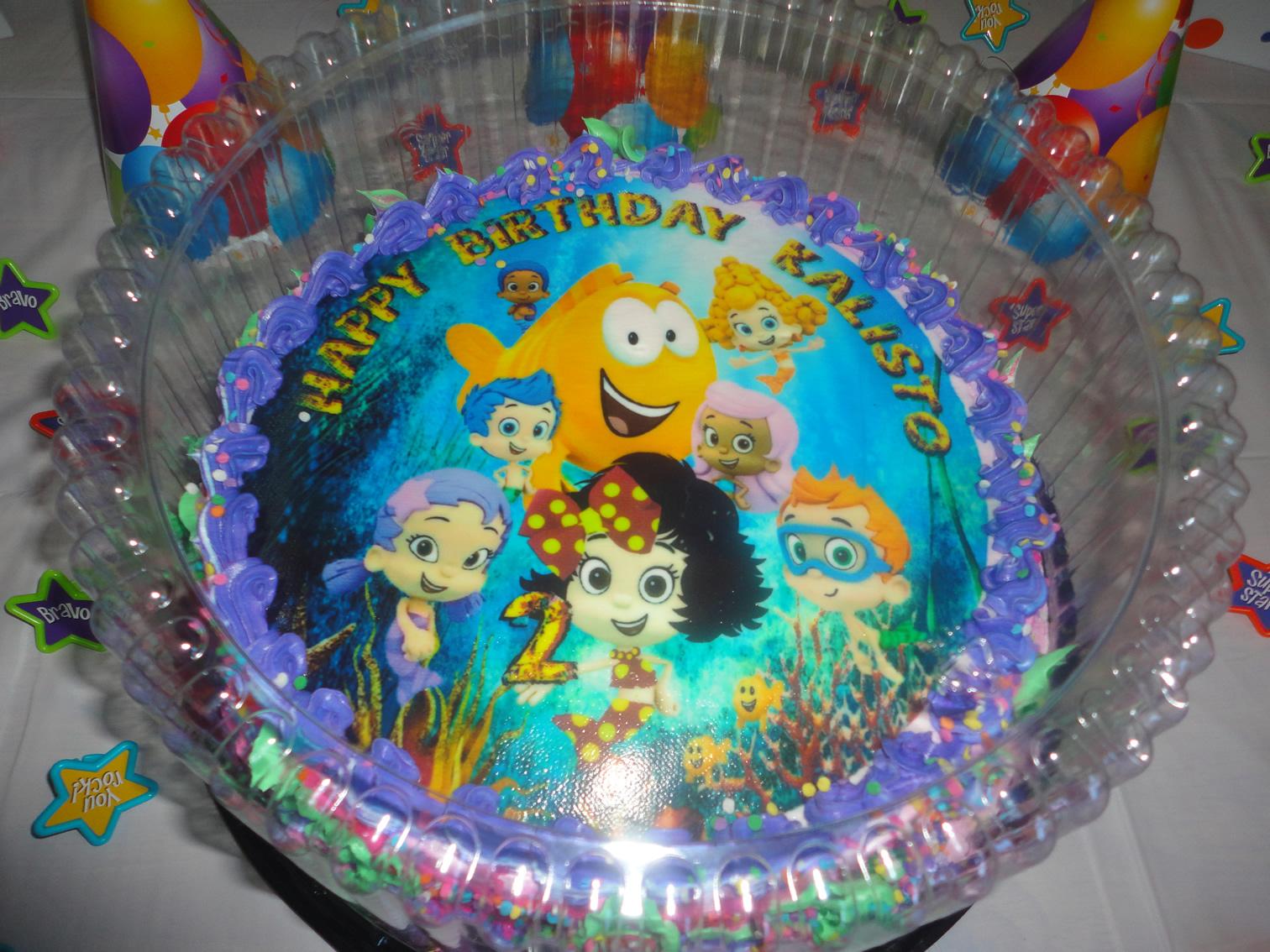 Pin Bubble Guppies Theme Cupcakes Cake Singapore Molly Gil