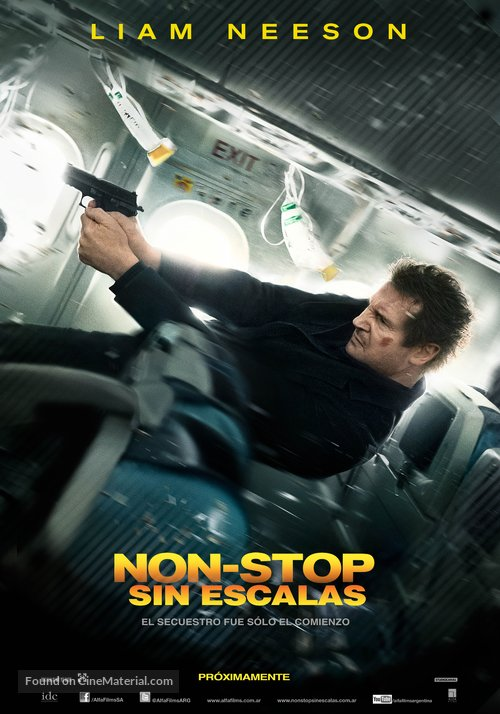 Non-Stop (2014) Dual Audio Hindi 350MB BluRay 480p x264 ESubs