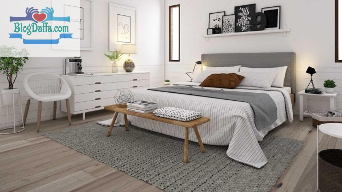 Warna kamar tidur putih klasik
