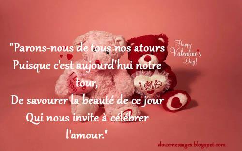 Lettre d 39 amour pour la saint valentin messages doux - Lettre saint valentin pour son cheri ...